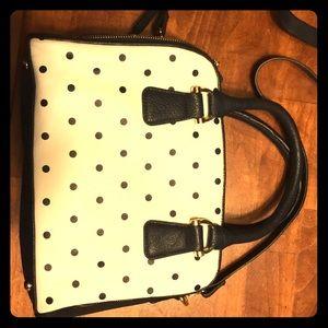 Bowler-esque Merona handbag with strap
